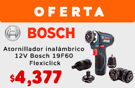 Atornillador Inalambrico 12V Bosch 19F60 Flexiclick