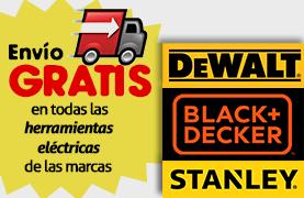Envío Gratis en Herramientas DeWalt, Black & Decker y Stanley