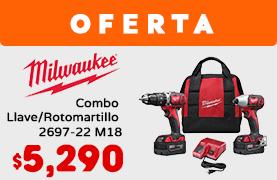Combo Llave/Rotomartillo 2697-22 M18