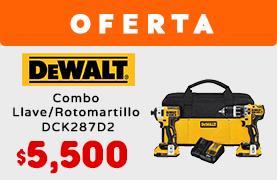 Combo Llave/Rotomartillo DCK287D2