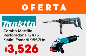 Combo Martillo Perforador Hr2475 / Mini Esmeril 9557Hn
