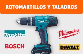 Rotomartillos y Taladros