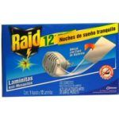 Insecticida Raid aparato para laminitas 12 Pz Bayer-Johnson