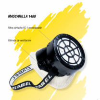 Mascarilla para gas 1400 Cabel