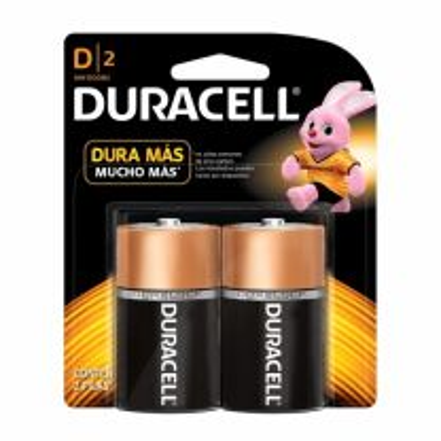 Batería pila D 2 Pz 1300 Duracell