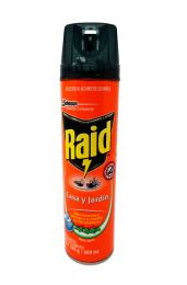 Insecticida Raid casa y jardín 400 ml Bayer-Johnson