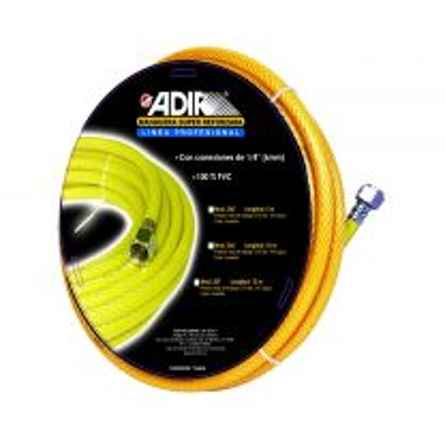 Manguera para compresora amarilla 10m AD-206 Adir